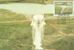 Ciskei 1989 Dams Sandfield,Maximum Card - Ciskei