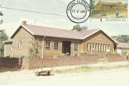 Transkei 1984 Buildings ,Mount Fletcher,Maximum Card - Transkei