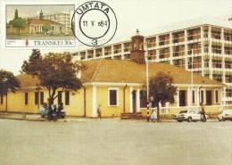 Transkei 1984 Buildings ,Umtata,Maximum Card - Transkei