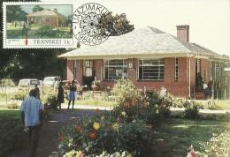 Transkei 1984 Buildings Umzimkulu,Maximum Card - Transkei