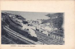 CPA 66 CERBERE GARE DEPART POUR L' ESPAGNE - Cerbere
