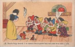 BLANCHE NEIGE ( ..montrez Vos Mains Avant De Passer A Table..._) - Bandes Dessinées
