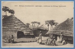 AFRIQUE  -- NIGER - Intérieur De Village Djallonké - Niger