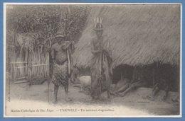 AFRIQUE  -- NIGER -- Unkwelé - Un Intérieur D'agriculteur - Niger