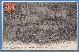 AFRIQUE  -- NIGER -- Ndoni - Une école Catholique Dans Lma Brousse - Niger