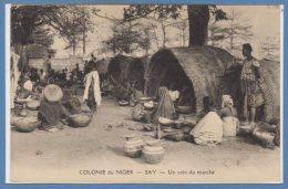 AFRIQUE  -- NIGER -- SAY --  Un Coin Du Marché - Niger