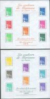 France 2002 - Les Couleurs De Mariane En Euros - BF 44 Et BF 45, Neufs** - Sheetlets
