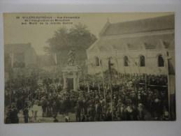VILLERS OUTREAUX VUE D´ENSEMBLE DE L´INAUGURATION DU MONUMENT AUX MORTS DE LA GRANDE GUERRE N°28 - Altri Comuni