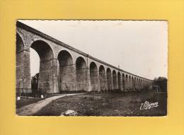 * CPSM Photo..dépt 77..LONGUEVILLE  :  Le Viaduc    : Voir Les 2 Scans - France