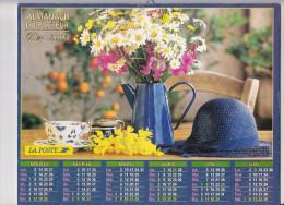 Almanach Des PTT 2003, Bouquet Champêtre / Tournesols Et Faucille, OLLER - Formato Grande : 2001-...