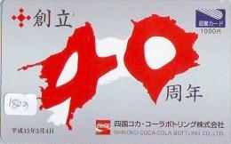 Télécarte Japon * COCA COLA  (1803) JAPAN PHONECARD * TELEFONKARTE * COKE * - Advertising