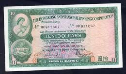 Hongkong And Shanghai Banking Corporation - 10 Dollars / Ten Dollars 1978 - SPL - Hong Kong