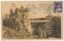 Craiova Parcul Bibescu Pont Suspendu Suspension Bridge Used To Cuba - Roumanie