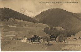 22 Vallée Du Rhin Grisons Pres De Dissentis Chalet Cie Suisse Chemin De Fer Furka Brigue Furka Dissentis 1914 - GR Grisons