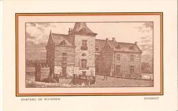 GANSHOREN (1083) : Kasteel - Château De RIVIEREN. CPA. - Ganshoren