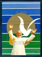 VATICAN CINDERELLA BLOCK 1v 1989 VISIT POPE JOHN PAUL II TO AFRICA * MNH - Blocks & Sheetlets & Panes