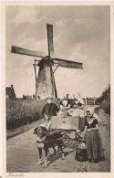 HONDERKAR (PAYS BAS VOITURE A CHIEN ET MOULIN) - Pays-Bas