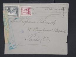 ESPAGNE--Env. Pour France Période 1930/40 Avec Censure    Dispersion D ´une Archive    P6554 - Marcas De Censura Nacional