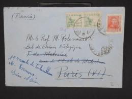 ESPAGNE--Env. Pour France Période 1930/40 Avec Censure    Dispersion D ´une Archive    P6555 - Marcas De Censura Nacional