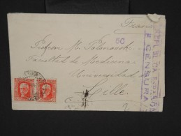 ESPAGNE--Env. Pour France Période 1930/40 Avec Censure    Dispersion D ´une Archive    P6556 - Marcas De Censura Nacional