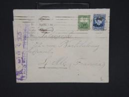 ESPAGNE--Env. Pour France Période 1930/40 Avec Censure    Dispersion D ´une Archive    P6561 - Marcas De Censura Nacional