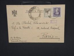 ESPAGNE--Env. Pour France Période 1930/40 Avec Censure    Dispersion D ´une Archive    P6562 - Marcas De Censura Nacional