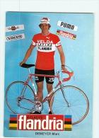 Marc DEMEYER . 2 Scans. Flandria Velda 1977 - Ciclismo