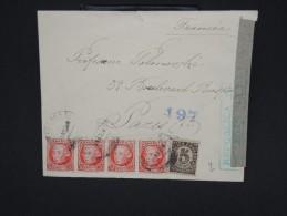 ESPAGNE--Env. Pour France Période 1930/40 Avec Censure    Dispersion D ´une Archive    P6564 - Marcas De Censura Nacional