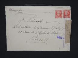 ESPAGNE--Env. Pour France Période 1930/40 Avec Censure    Dispersion D ´une Archive    P6567 - Marcas De Censura Nacional