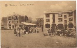 Wenduine.  La Place Du Marché. Marktplaats. - Wenduine