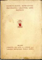 LIBERIA ANTIQVARIA  VLRICO HOEPLI  MILANO 1927  -  NOMBREUSES ILLUSTRATIONS - Livres Anciens