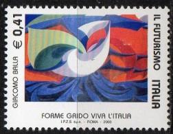 PIA - ITALIA - 2003 : Il Futurismo   - (SAS  2718-19) - 6. 1946-.. Repubblica