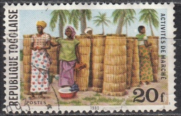Togo, 1980 - 20fr Straw Baskets - Nr.1084 Usato° - Togo (1960-...)