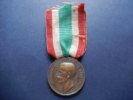 Medaglia Vittorio Emanuele III RE D´ITALIA, Commemorazione Unità D´Italia 1848-1918 -ME7 - Italia