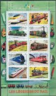 France 2001 - Les Legendes Du Rail - BF 38, Neuf** - Sheetlets