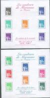 France 2001 - Les Couleurs De Mariane En Francs - BF 41 Et BF 42 , Neufs** - Sheetlets