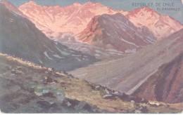 REPUBLICA DE CHILE - EL PAVAMILLO -  - DE BUENOS AIRES A VALPARAISO VIA CORDILLERA CPA 1900s DOS DIVISE RARE UNCIRCULATE - Chili