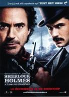 Postcrd, Boomerang, Film. Cinema, Sherlock Holmes - Publicité