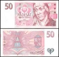 Czech Republic #17, 50 Korun, 1997, UNC - Tschechien