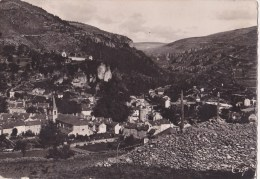 CPSM Meyrueis Panorama Et Vallée De La Jonte - Meyrueis