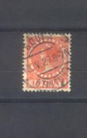 Langebalkstempel Gouda Station 1 Op Nvph 182 - Periode 1891-1948 (Wilhelmina)