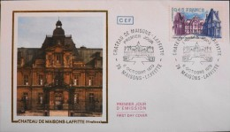 ENVELOPPE 1er JOUR 1979 - Château De Maisons-Laffitte - Le 06.10.1979 - En Parfait état - - FDC