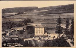 """Vresse S/Semois - Hôtel 'A La Glycine"""" (garage, Format Carte Postale Mais Publicité) - Vresse-sur-Semois"""