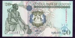 Lesotho 20 Maloti 1994 UNC - Lesoto