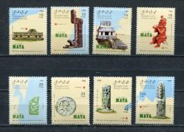 SAHARA OCC 1992 500 YEARS DISCOVERY Of AMERICA MAYA CULTURE MNH - Fantasy Labels