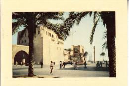 LIBYEN - TRIPOLI, Castle Square - Libyen