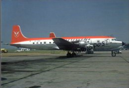 Douglas DC 6B GEENLANDAIR AIRWAYS / OY-DRM DC-6  Avion Aviation DC6 Aiplane DC-6 Luft Green Landair Lan Air - 1946-....: Era Moderna