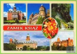 Voyo POLAND KSIAZ (Schloss Fürstinstein) The Castle Views 1998 Unused Kotlina - Pologne