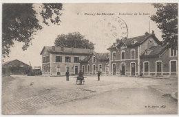 PARAY LE MONIAL  - Extérieur De La Gare - Cachet Militaire : Infirmerie De Gare - Croix Rouge S.B.M. (78942) - Paray Le Monial