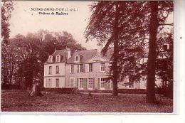 37 NOTRE DAME D´OE ( I Et L ) - Château De Mazières - Vue De La Façade Prise Du Parc Au Printemps - CPA - Non Classificati